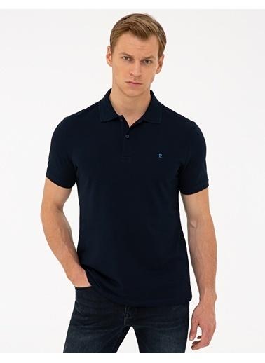 Pierre Cardin G021Gl011.000.1286351.Vr100 T-Shirt Basi Lacivert
